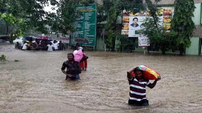 weather department has predicted rain or thundershowers at most places over coastal Tamil Nadu and Puducherry and at many places over interior Tamil Nadu for the next four - Sakshi Post