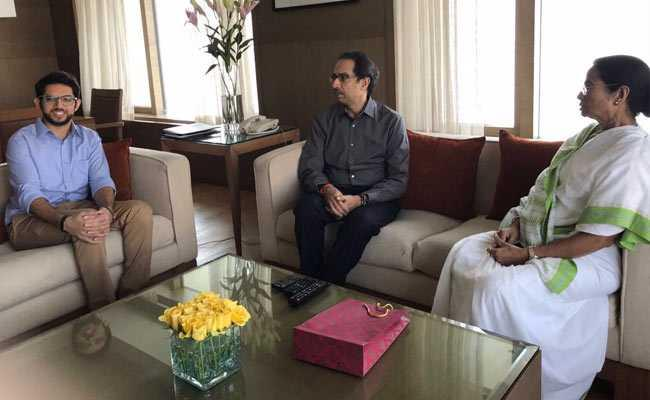 Uddhav Thackeray met with West Bengal chief minister Mamata Banerjee two days ago - Sakshi Post