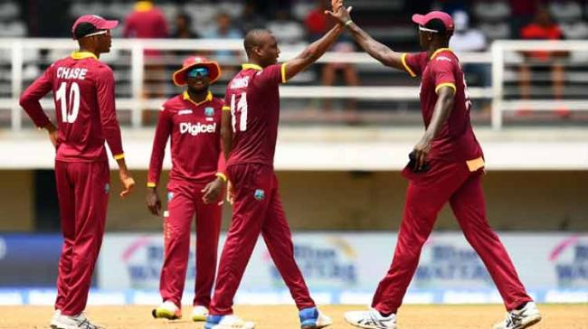 Ambris was the only change in the Jason Holder-led squad that beat Zimbabwe 1-0 in the Test series in Bulawayo earlier this month. - Sakshi Post