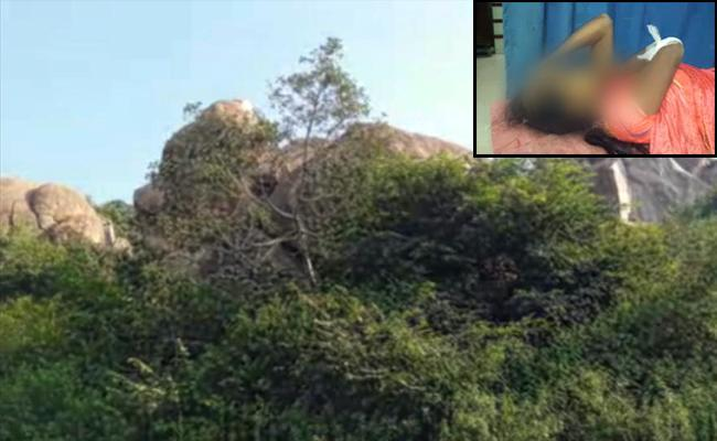 The Boulder where the mishap took place - Sakshi Post
