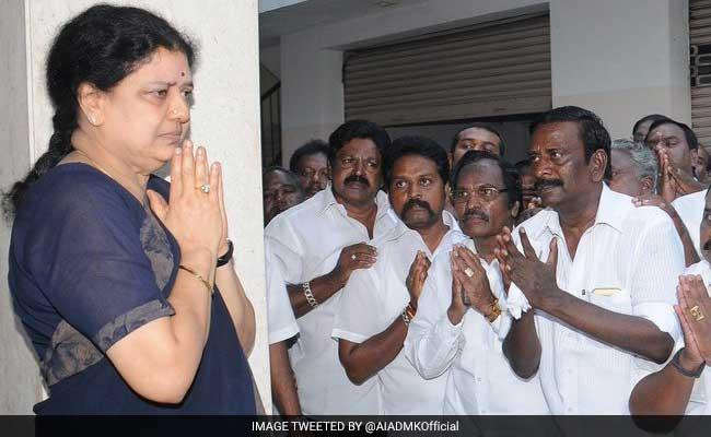 Sasikala, who is undergoing her sentence after being convicted in a corruption case along with couple of her relatives, was a close confidante of Tamil Nadu's late Chief Minister J. Jayalalithaa and was living with her for several decades. - Sakshi Post