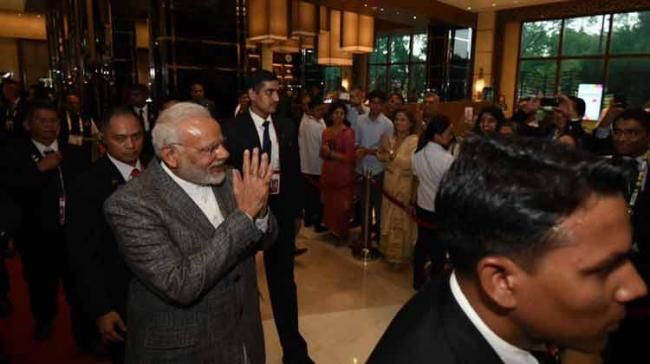 This is the first Prime Ministerial visit from India to the Philippines in 36 years since the visit of Indira Gandhi in 1981. - Sakshi Post