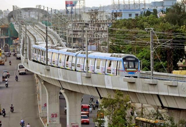 The long-cherished dream of the people of this historic city is becoming a reality as the first phase of nearly 72-km elevated metro project is all set to be inaugurated by Prime Minister Narendra Modi on Tuesday. - Sakshi Post
