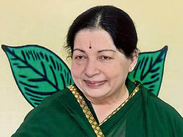 A large number of AIADMK leaders and cadres gathered at late Chief Minister J. Jayalalithaa's memorial here on Tuesday and paid homage on her first death anniversary. - Sakshi Post