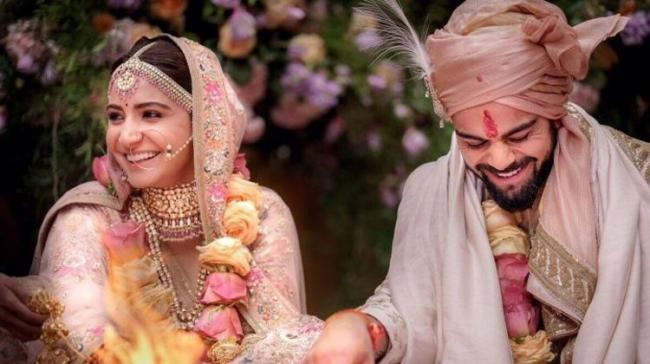The Indian cricket captain and Anushka got married at a private ceremony in Tuscany, Italy, last week - Sakshi Post