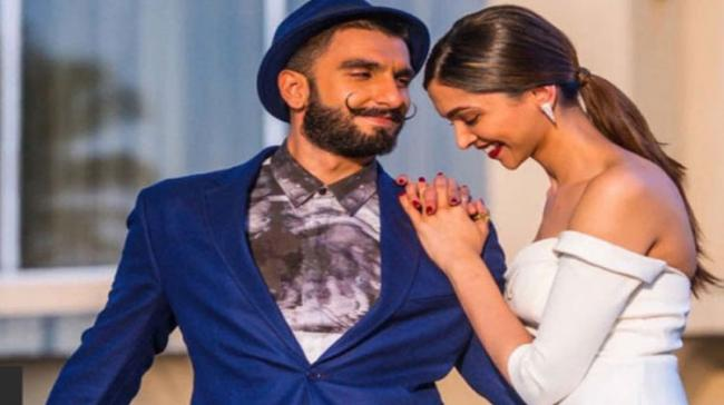 Ranveer Singh and Deepika Padukone - Sakshi Post