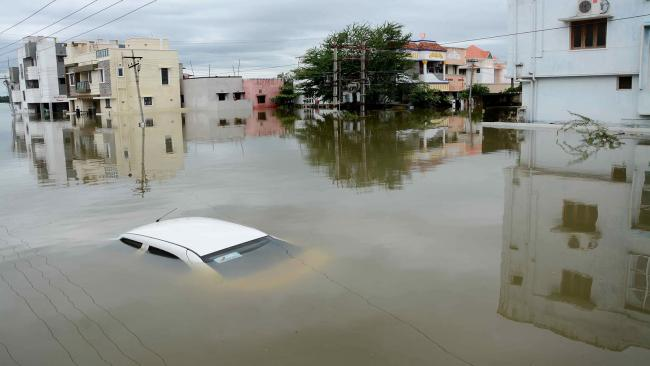 As much as 56 percent of smart cities are prone to floods which are responsible for 77 per cent of all disasters in India - Sakshi Post