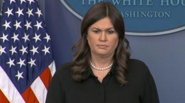 Press Secretary Sarah Sanders - Sakshi Post
