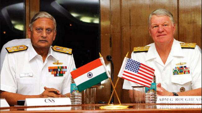 Indian, US Navies Have Shared Interest: US Navy Chief - Sakshi Post