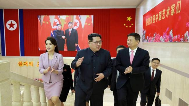 Kim met Song Tao, the head of the Communist Party of China's International Department - Sakshi Post