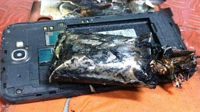 Few minutes after charging, the phone exploded leaving the woman with grevious injuries - Sakshi Post
