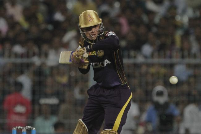 Kolkata Knight Riders Shubman Gill bats against Chennai Super Kings during the VIVO IPL cricket T20 match in Kolkata   - Sakshi Post