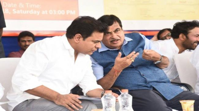 Nitin Gadkari in Hyderabad - Sakshi Post