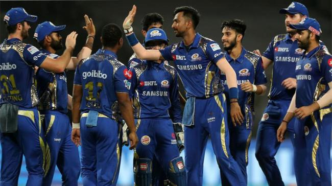 The win, Mumbai's third on the spin, took Rohit Sharma and Co. level on points with Kolkata (10 points from 11 games) - Sakshi Post