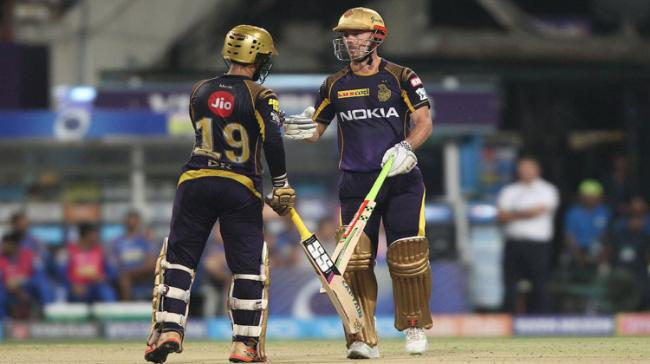 KKR showed their intent from the word go with Sunil Narine taking off-spinner K. Gowtham for 21 runs that included 6-4-6-4 in the first four balls - Sakshi Post