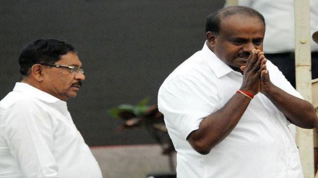 Karnataka Chief Minister HD Kumaraswamy - Sakshi Post