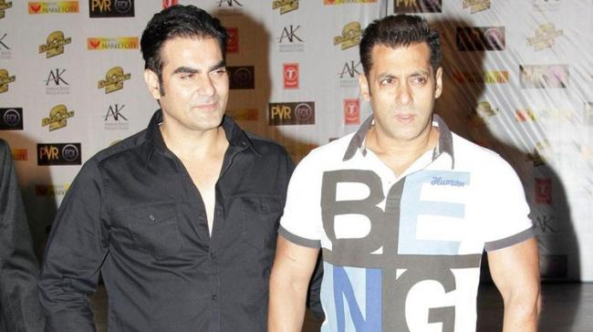 Arbaaz  and Salman Khan - Sakshi Post