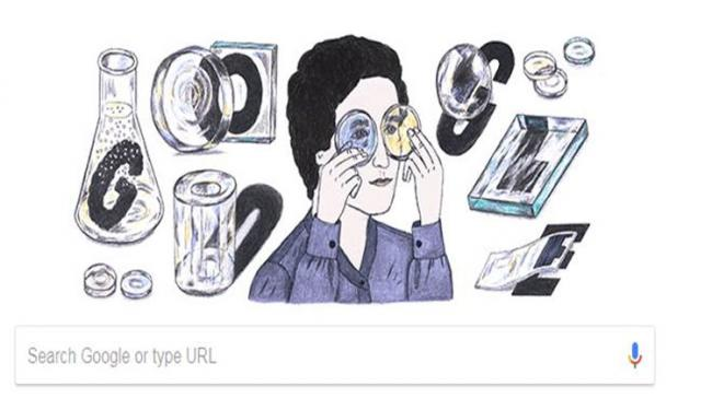 Google  remembered the famous German glass chemist Marga Faulstich on her 103rd birthday with a Doodle - Sakshi Post