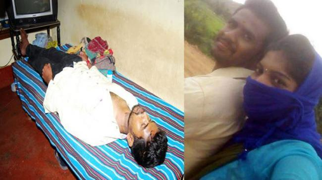 The deceased Ranjith Kumar (L) and the Facebook girl (R) - Sakshi Post