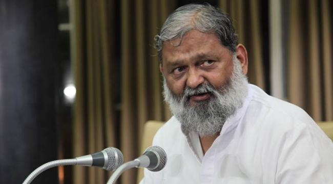 Haryana Sports and Youth Affairs Minister Anil Vij - Sakshi Post