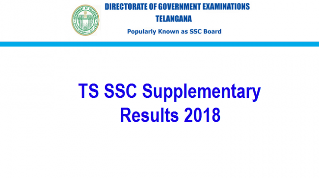 TS 10th Class Supplementary Results 2018 - Sakshi Post