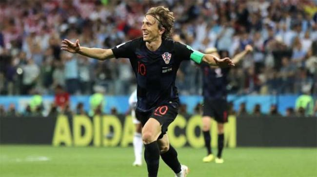 Luka Modric scored another with a hooking shot in the 80th and Ivan Rakitic added the third in stoppage time. - Sakshi Post