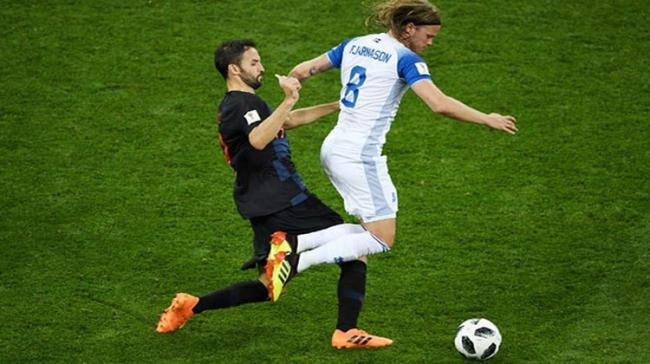 Croatia finished the group stage with nine points, having won all their three matches. Iceland finished at the bottom of the group with one point - Sakshi Post