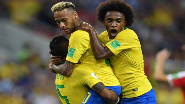 Brazil eliminated Serbia with a 2-0 victory as the five-time world champions entered the FIFA World Cup pre-quarterfinals - Sakshi Post