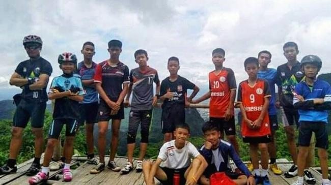 The daring rescue of 12 schoolboys and their football coach in the waterlogged caves of Thailand will be soon seen on the big screen. - Sakshi Post