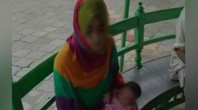 The woman alleged that her husband and in-laws even thrashed her and demanded dowry for giving birth to a baby girl a week ago. - Sakshi Post