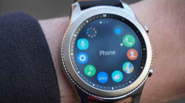 The bigger Samsung Galaxy Watch could be a sportier variant based on the shape of its chassis while the smaller one has a more traditional design - Sakshi Post
