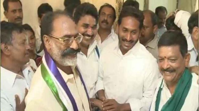 Amalapuram Municipal Corporation former chairman Babji joined the YSRCP in the presence of the party president today - Sakshi Post