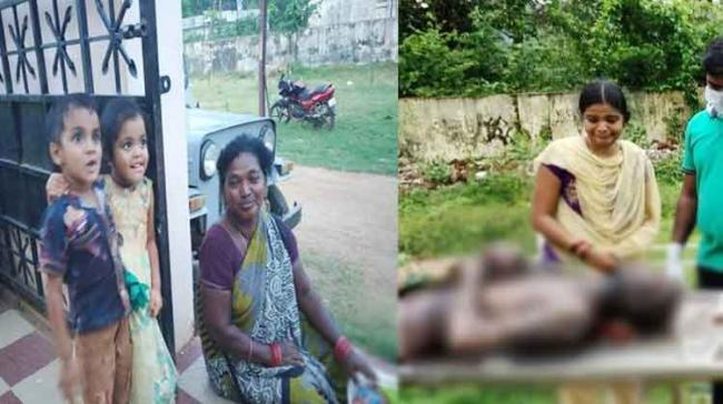 One of the accused Devi spotted crying after seeing her husband's dead body - Sakshi Post