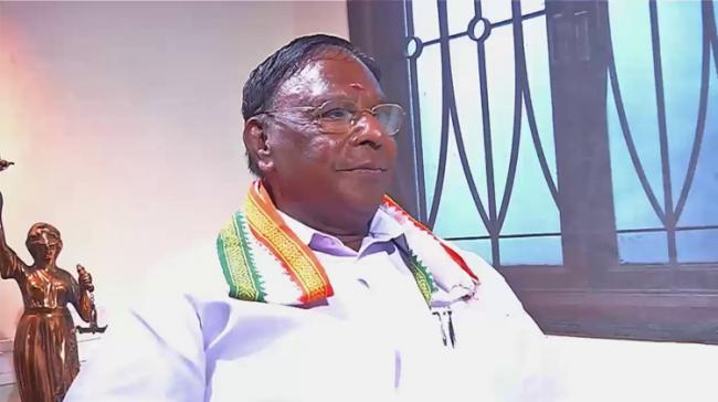 Puducherry Chief Minister V Narayanasamy - Sakshi Post