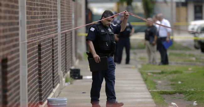 Police in Chicago have said that 44 people were shot within 14 hours out of which five were killed - Sakshi Post