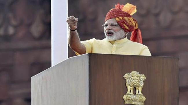 Modi Delivers His Last Independence Day Speech Of Term - Sakshi Post