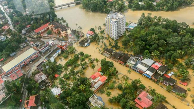 Flood affected areas in Alappuzha district of the Kerala  - Sakshi Post
