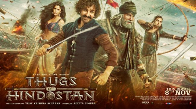 Thugs Of Hindustan poster - Sakshi Post