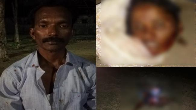 A man here killed his wife over her extra-marital affair. The accused Pasupuleti Venkata Ramana (40) and Rani (35) got married in 1999 - Sakshi Post