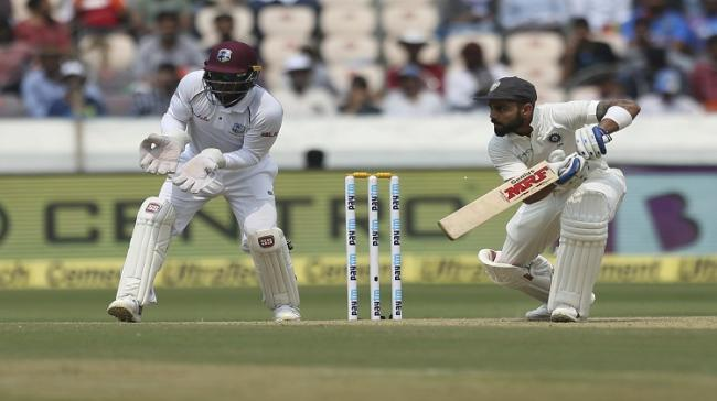 India and West Indies test match - Sakshi Post
