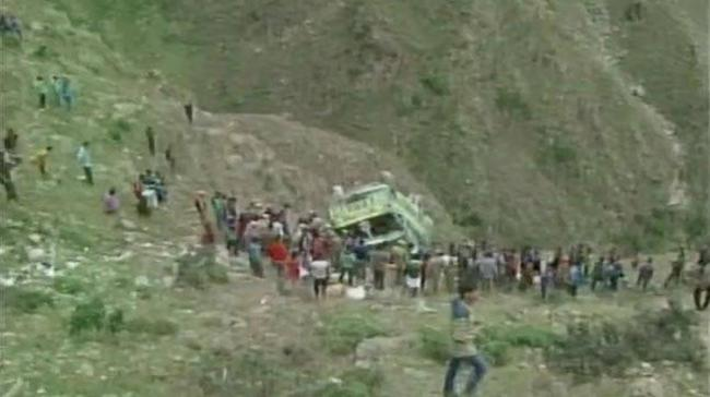Conductor Dies As Bus Falls Into Gorge In Doda - Sakshi Post