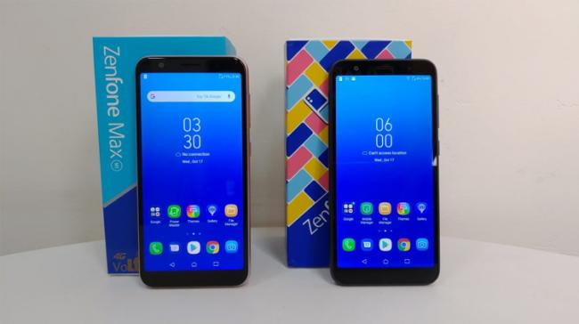 """Taiwanese smartphone maker ASUS on Wednesday launched ZenFone """"Lite (L1)"""" and """"Max (M1)"""" - Sakshi Post"""