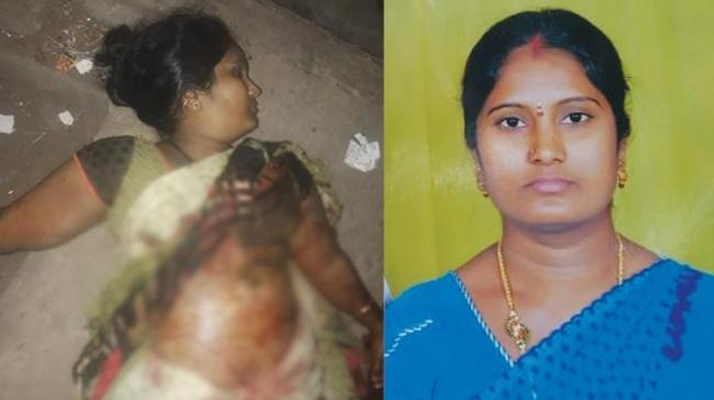A man killed his wife suspecting her fidelity. According to the police and the locals, the accused Mohan Rao lives with his wife Nagamani - Sakshi Post