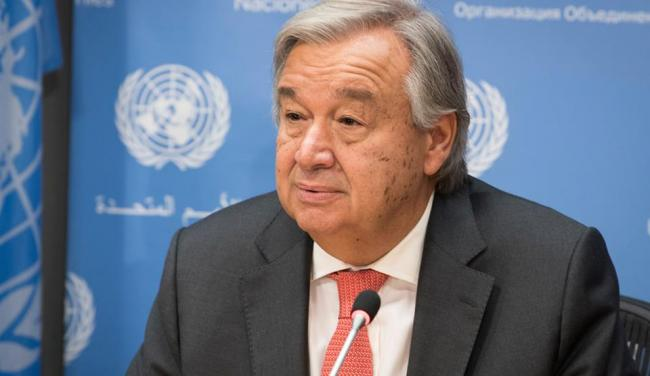 UN Secretary-General Antonio Guterres - Sakshi Post