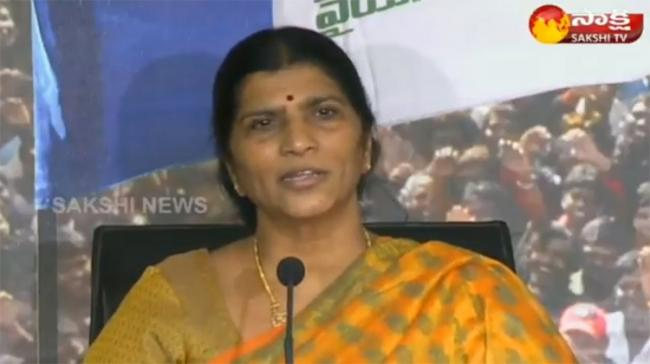 Lakshmi Parvathi lashed out at Chandrababu for planning to kill a person of his son's age - Sakshi Post