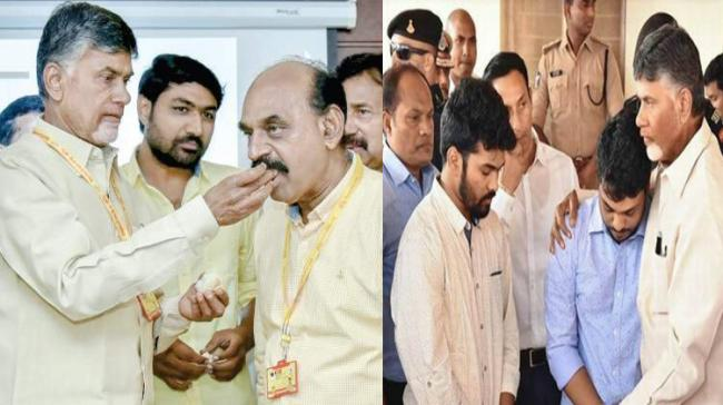 Chandrababu, NMD Farooq and Kidari Sravan - Sakshi Post