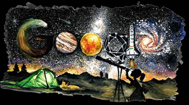 """This year, the search engine's theme for the day's doodle was """"What Inspires You"""". - Sakshi Post"""