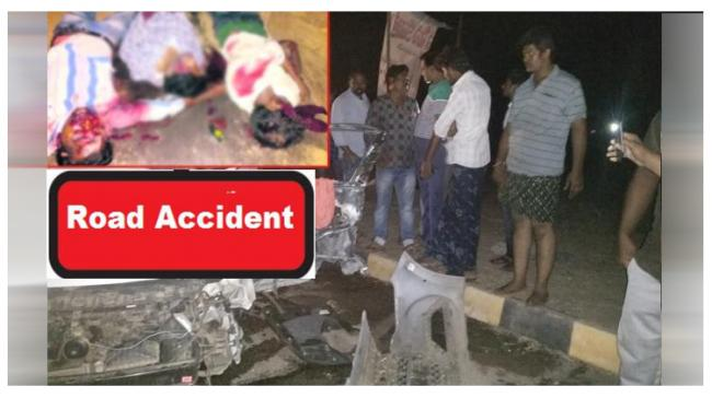 Done Road Accident Site - Sakshi Post
