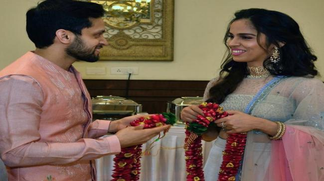 Saina, Kashyap Get Married In Private Ceremony - Sakshi Post