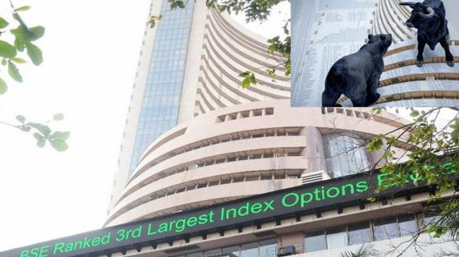Equity Indices Open In Red; Sensex Down 150 Points - Sakshi Post